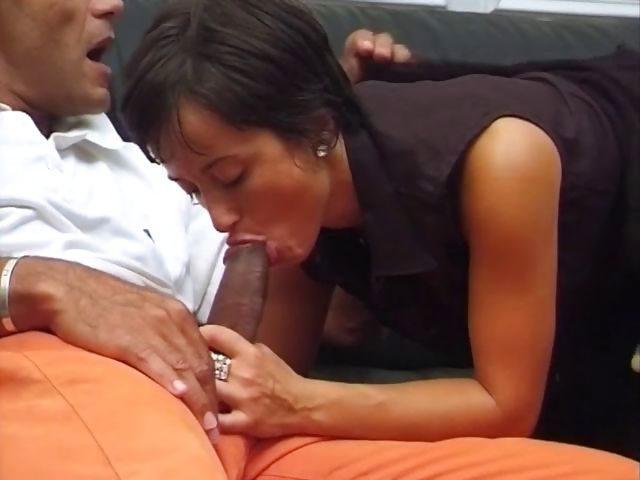 Porn Tube of Hot Short-haired Brunette Milf Eats His Latin Cock And Gets Hammered