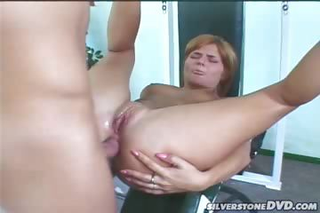Porn Tube of Red Head Get Her Ass Fucked And Get Caught On Spycam In Here