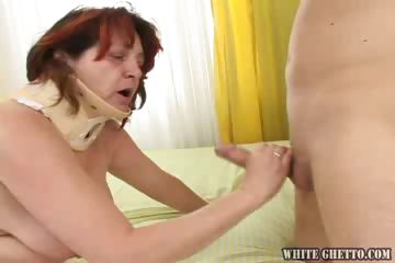 Porn Tube of I Wanna Buttfuck Your Grandma #01