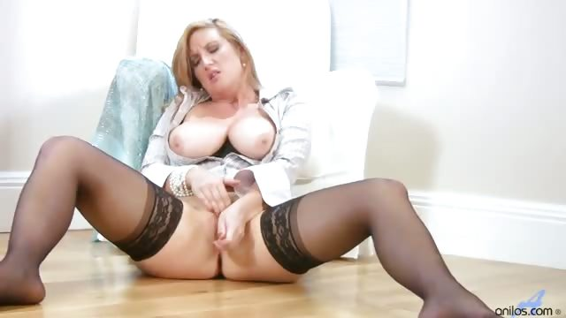 Porn Tube of Busty Office Milf Gets Off When She Gets Home