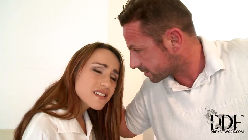 Porn Tube of Leyla Gets Her Ass Spanked