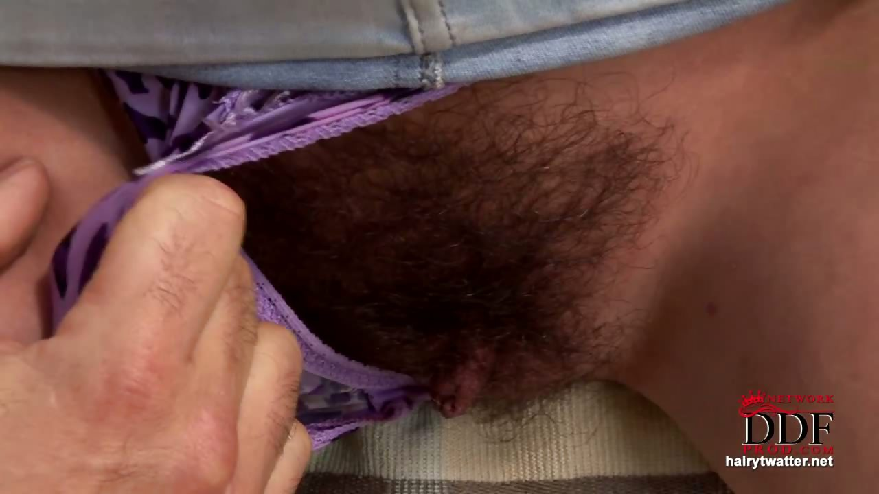 Sex Movie of Hairy Babe Alex Gets Taxed