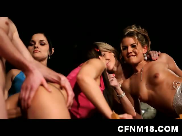 Porn Tube of Naughty Bride Loves Cfnm At Her Hen Night