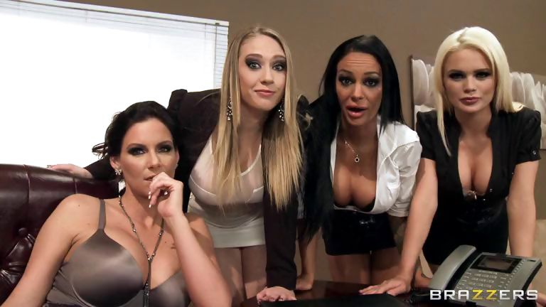 Porno Video of Office 4-play Iii