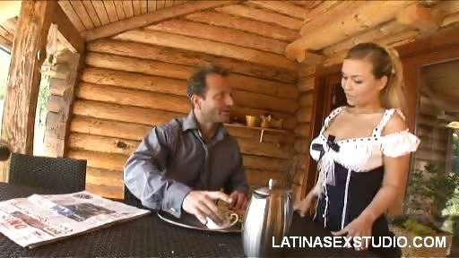 Porno Video of Dirty Latina Maid