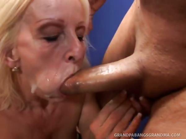 Granny loves cock tube