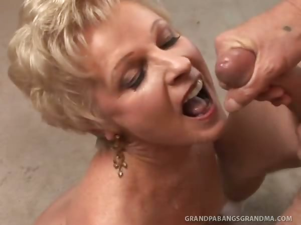 Porn Tube of Bbw Granny Champagne Big Dicked In Her Smoothly Shaved Pussy