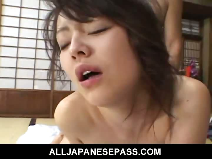 Porno Video of Horny Mature Japanese Cougar In A Kimono Rides A Hard Dick