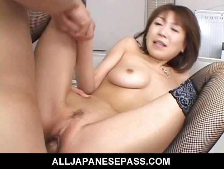 Porno Video of Jun Kusanagi Lovely Asian Office Girl Gets Fucked In The Office By Horny Guys