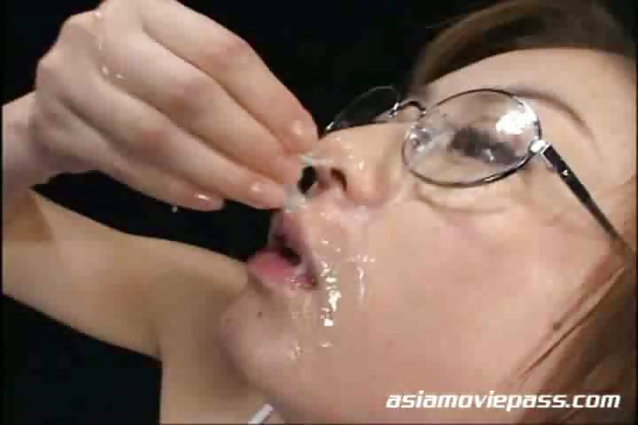 Porno Video of Cum Drinking 150 Shots Of Semen