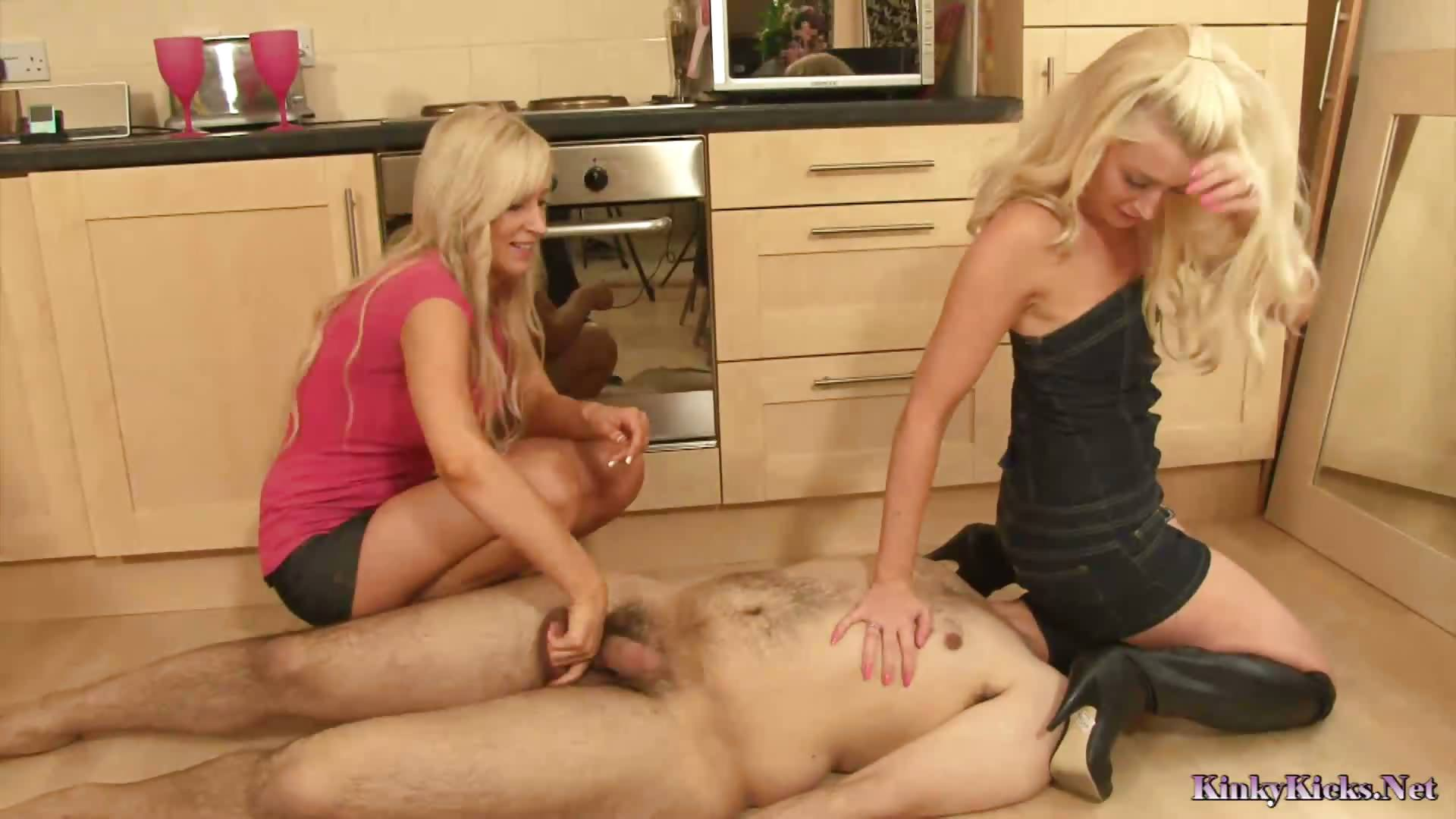 Porno Video of The Ballbusting Game