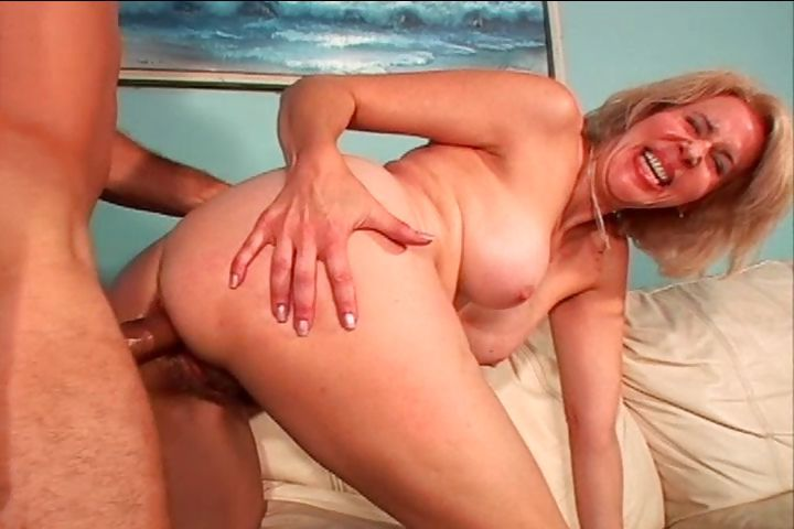 Porno Video of Hairy Mature Blonde Lady Trades Head And Gets A Latin Cock In All Her Holes