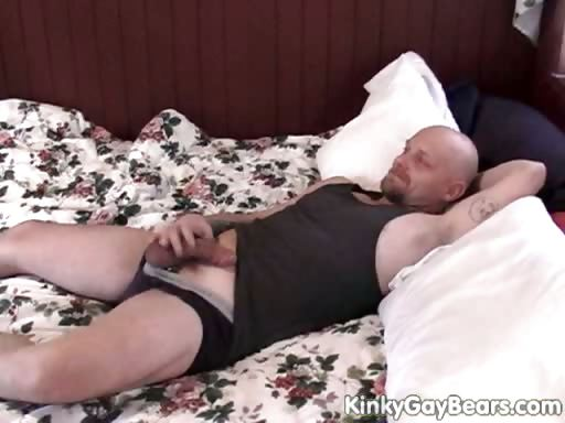 Porno Video of Chubby Daddy Bear Fucks A Younger Guy