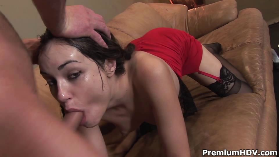 Porno Video of Brutal Mouth Fucked Sasha Grey