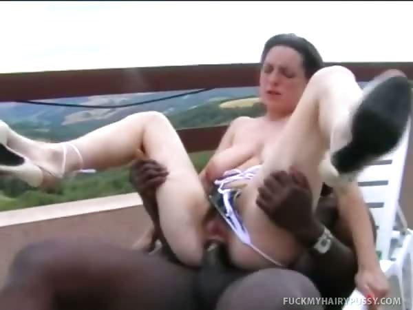 Porn Tube of Hairy Beaver Chick Takes It Up The Asshole
