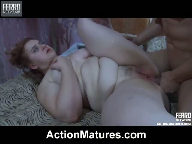 Porno Video of Chubby Mature Wakes Up A Stud With A Blowjob Aching For Some Rough Fuck