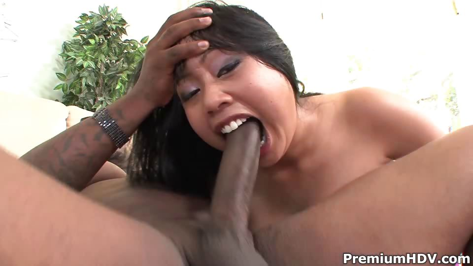 Porn Tube of Big Asian Girl Stuffed By Black Meat