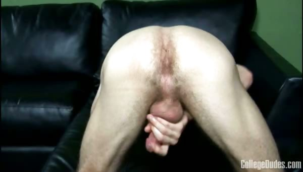 Porn Tube of College Dudes - Ben Moore Busts A Nut