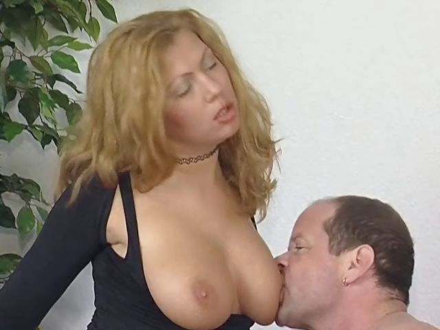 Porn Tube of Blonde German Slut Gets Her Huge Tits Covered In Lots Of Cum