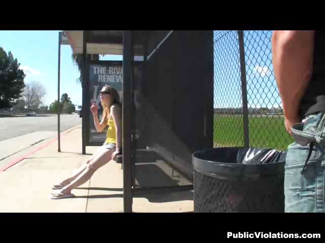 Porno Video of Bus Stop 2