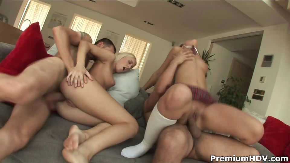 Porn Tube of Nice Hoes Having Horny Dp Orgy