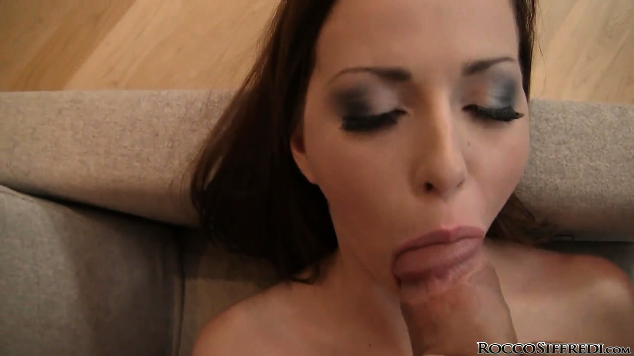 Porn Tube of Pale Teen Puts Her Pierced Tongue To Work Sucking Cock In A Pov