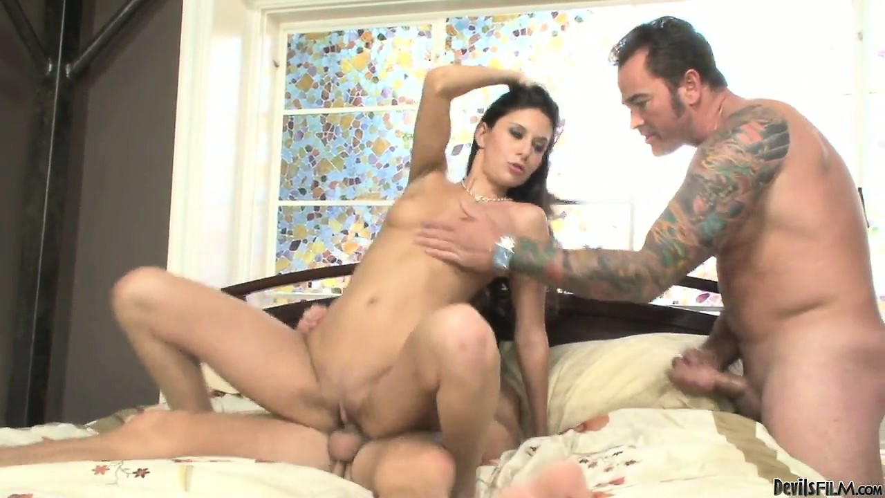 Porn Tube of No One Is Going To Change This Girl's Mind About The Goodness Of Double Fuck