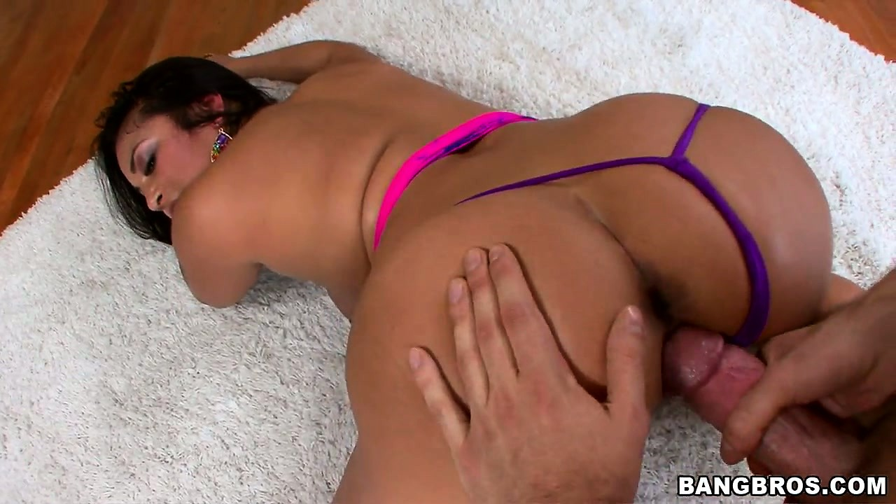 Porno Video of Hot And Spicy Latina Slut Gets Her Butt Fingered As She Bounces On His Boner