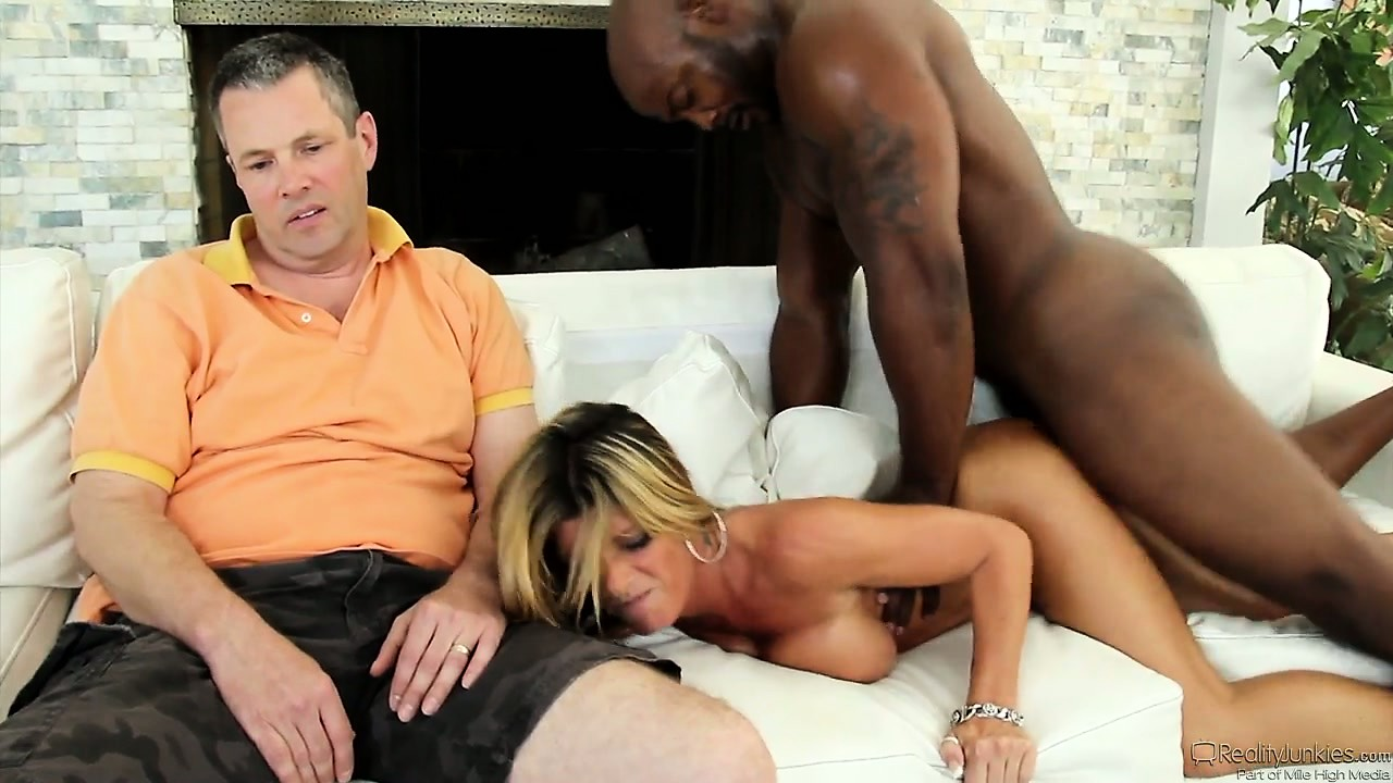 Porn Tube of Here They Go Again - Hubby Watches How The Black Lover Takes His Wife