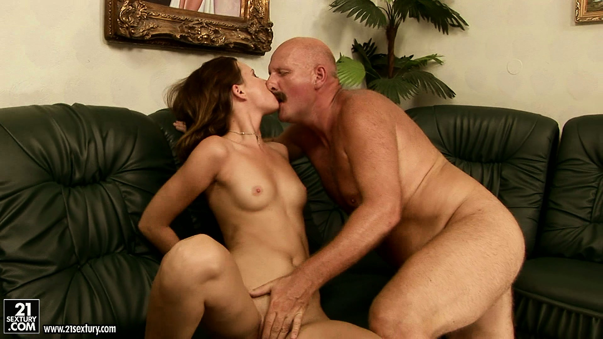 Porno Video of Kinky Old Man Sixty-nines An Adorable Chick And Even Lets Her Rim His Ass
