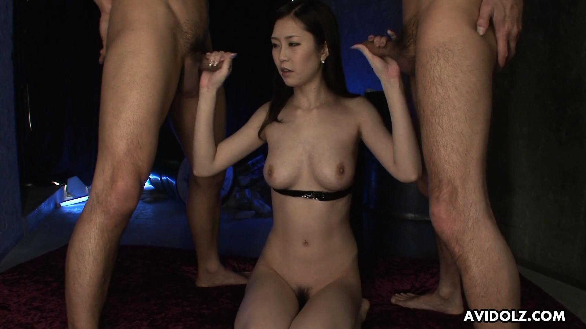 Porno Video of Kotone Amemiya Gets Fingers In Her Snatch And Cocks In Her Tender Mouth