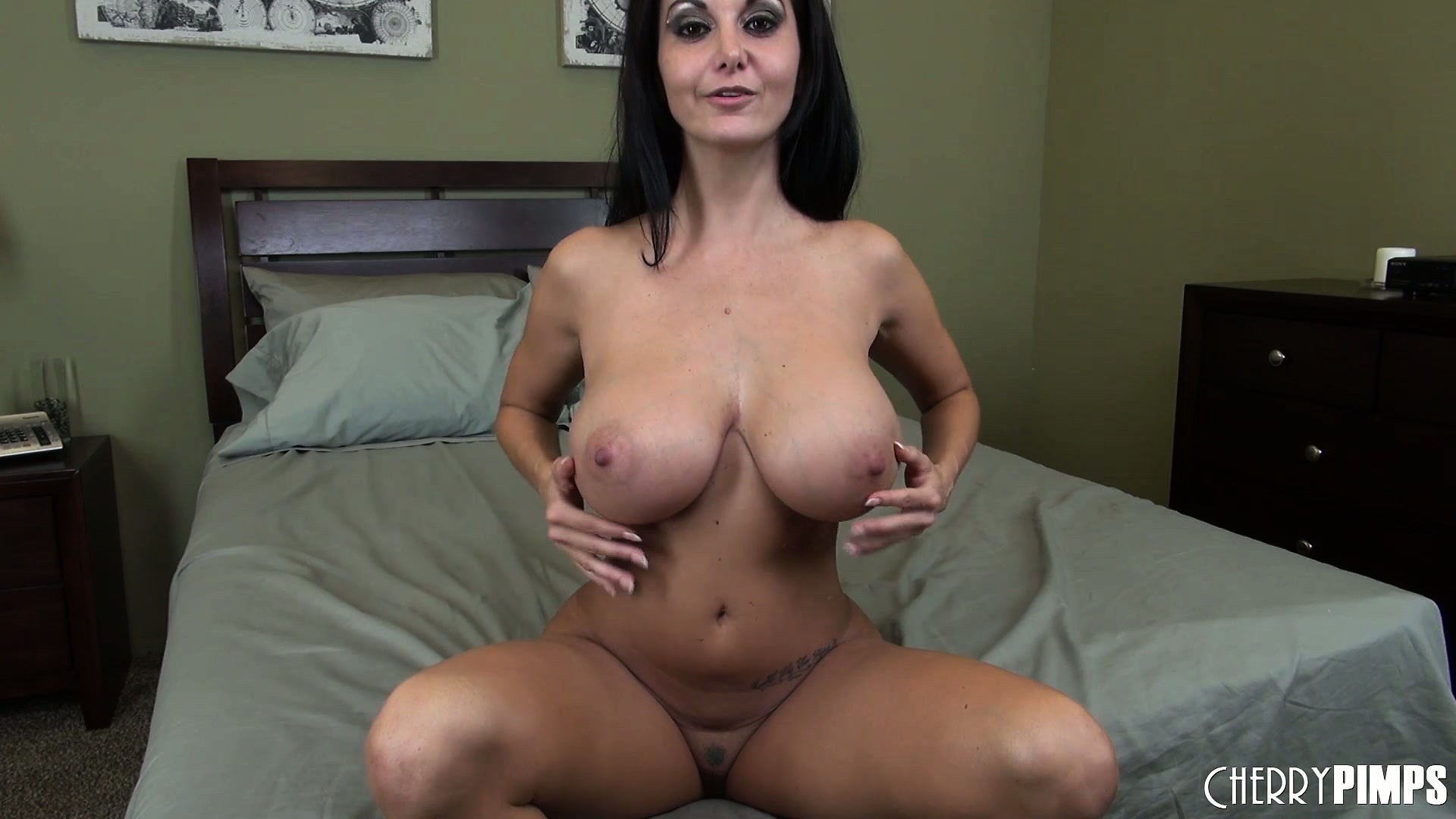 Porno Video of Cute Slut Ava Addams Shakes Her Big, Fake Boobies And Masturbates