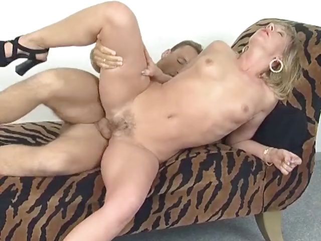 Porno Video of German Cougar Takes A Hard Frontal Pounding From Her Husband