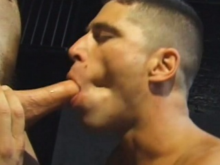 gays meet in the back alley for some cock sucking and ass licking business