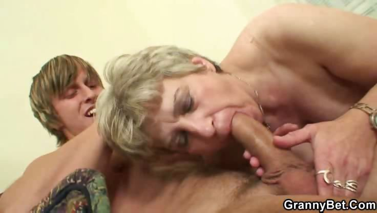 Porno Video of Hot Cocksucking Granny Wants Boner