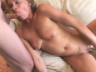 Seductive Blonde Housewife Gets Introduced To The Pleasures Of Anal Sex