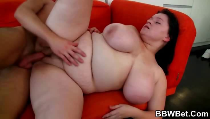 Porn Tube of That Bbw Cunt Needs His Dick