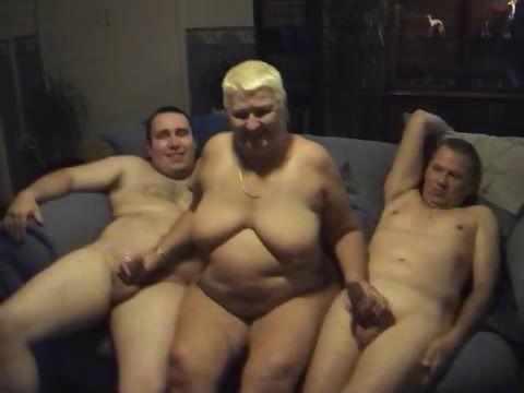 Porn Tube of Housewife Gangbang