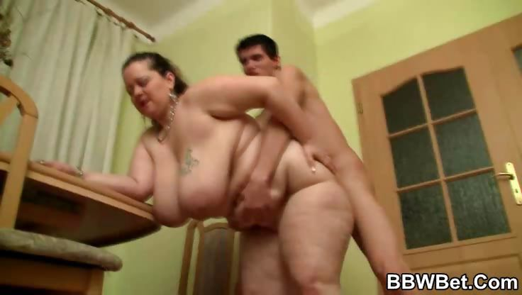 Porn Tube of Huge Tits And Ass On A Bbw Slut