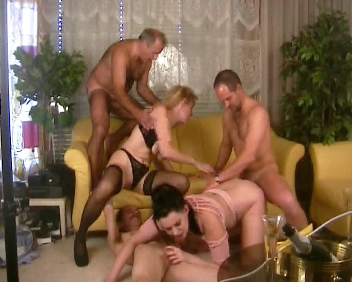 Porn Tube of Horny German Girls In A Sex Party With Old Men Blow And Fuck