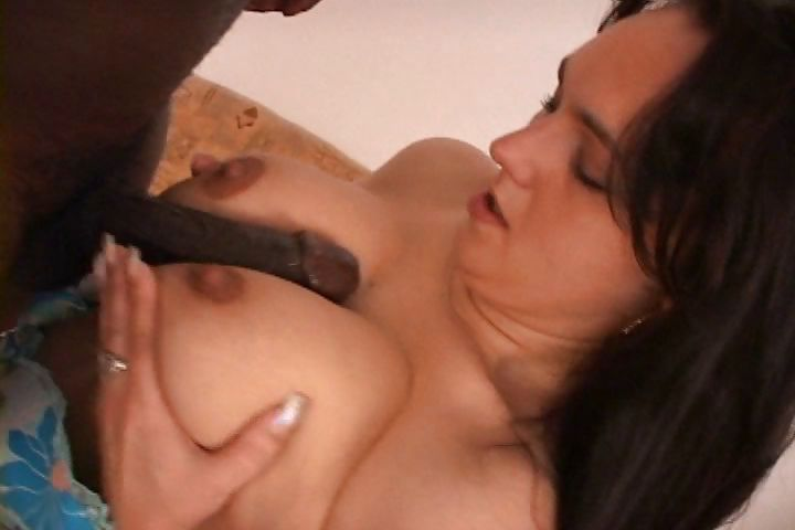 Porno Video of Mature Brunette Gal Fingers Her Furry Twat Then Gets Stuffed By A Chocolate Stick