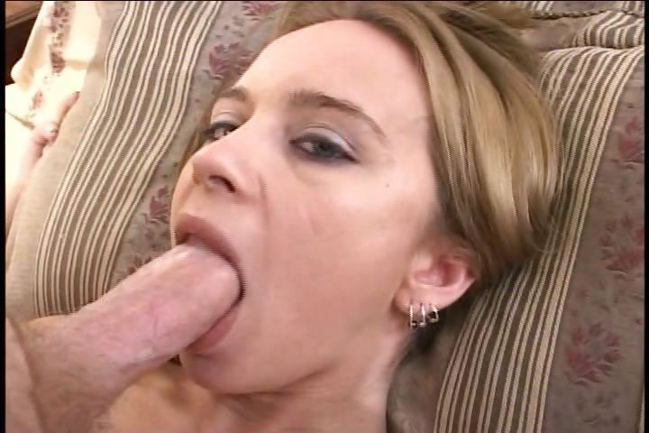 Porno Video of Sweet Young Blonde Schoolgirl Munches On His Big Dick With Her Pierced Tongue