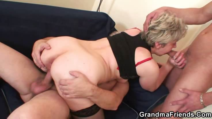 Porn Tube of Wrinkled Slut Shown A Good Time