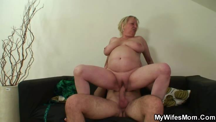 Porno Video of His Mother In Law Takes His Cock