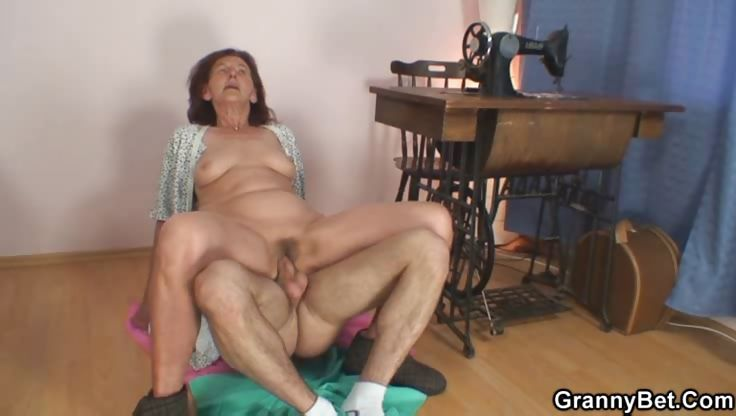 Porno Video of He Fucks His Granny Slut Hard