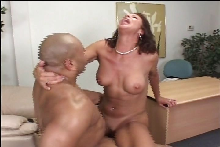 Porno Video of Brunette Milf Knocks Off A Hot Interracial Fuck And Blowjob At Work