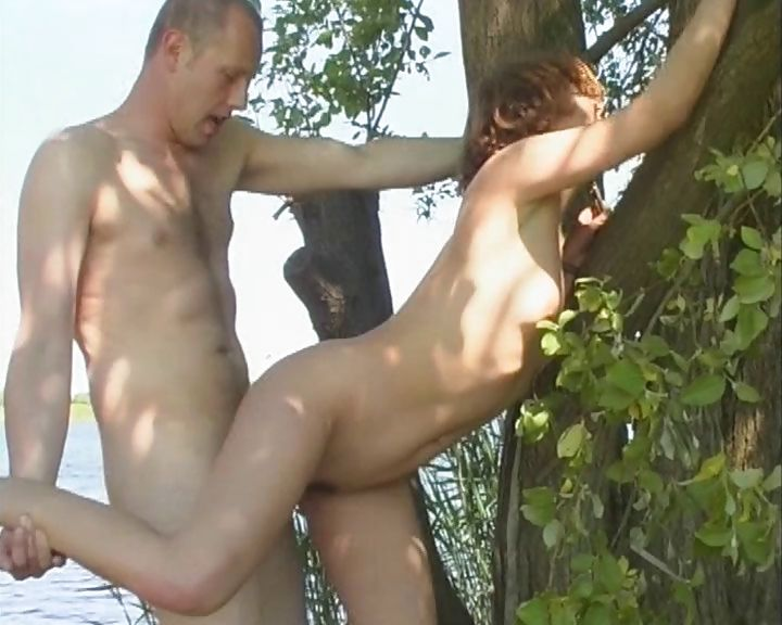 Porno Video of Two Complete Strangers From Germany Fuck By The Lake Shore
