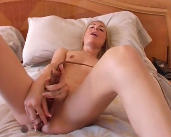 Porno Video of Cute Blonde With A Hairless Pussy Sucks Cock, Toys, And Gets Nailed