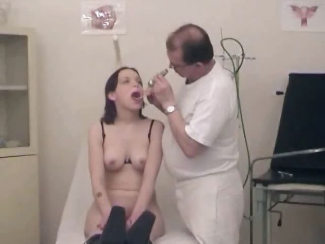Porno Video of Brunette Goes In For A Gyno Exam And Then Eats Cock And Gets Nailed