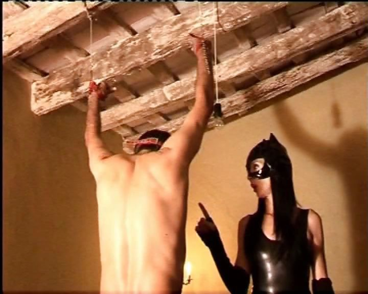 Porno Video of Sexy Spanish Mistress Gives Her Bad Slave A Stern Talking To